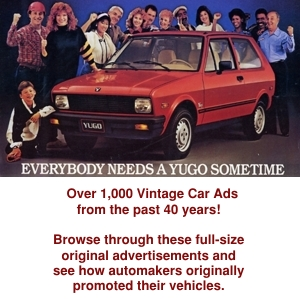 View thousands of Vintage Car Ads